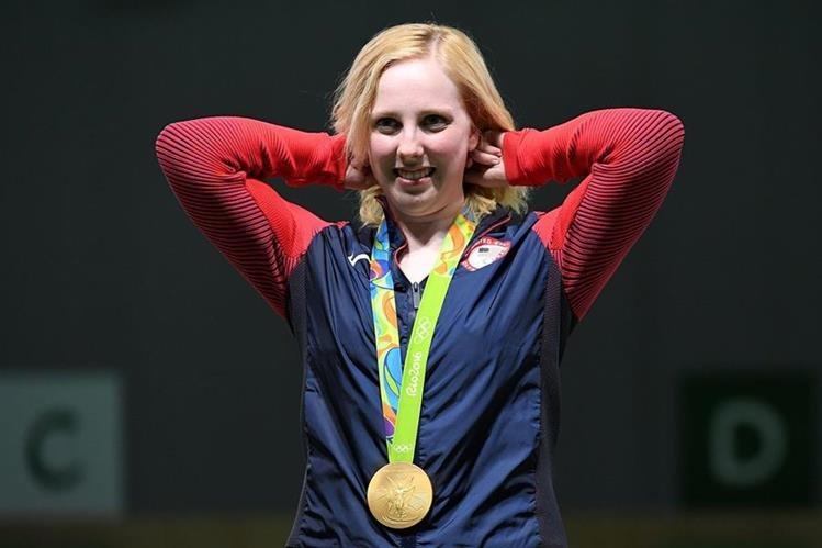 Trasher entró a la historia de Río 2016 al adjudicarse la primera medalla dorada de las justas. (Foto Prensa Libre: AFP)