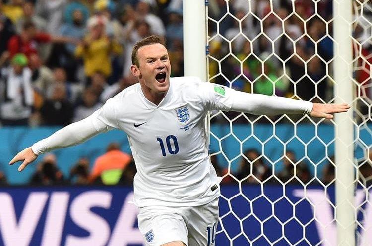 El goleador Wayne Rooney marcó 53 goles con la selección de Inglaterra. (Foto Prensa Libre: AFP)