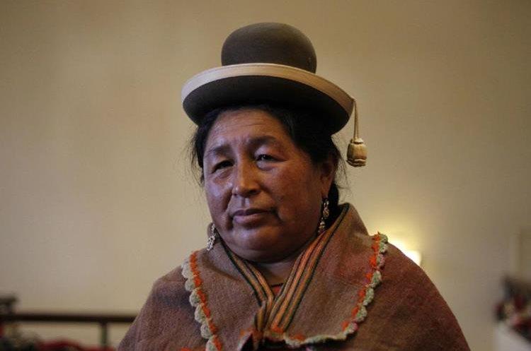 Angela Chisya, Perú.   Clausura del VII encuentro continental de mujeres indígenas de las Américas. La actividad se llevó a cabo en el hotel Conquistador Ramada en la zona 4 de la Ciudad de Guatemala.   Fotos: Paulo Raquec  19/11/2015