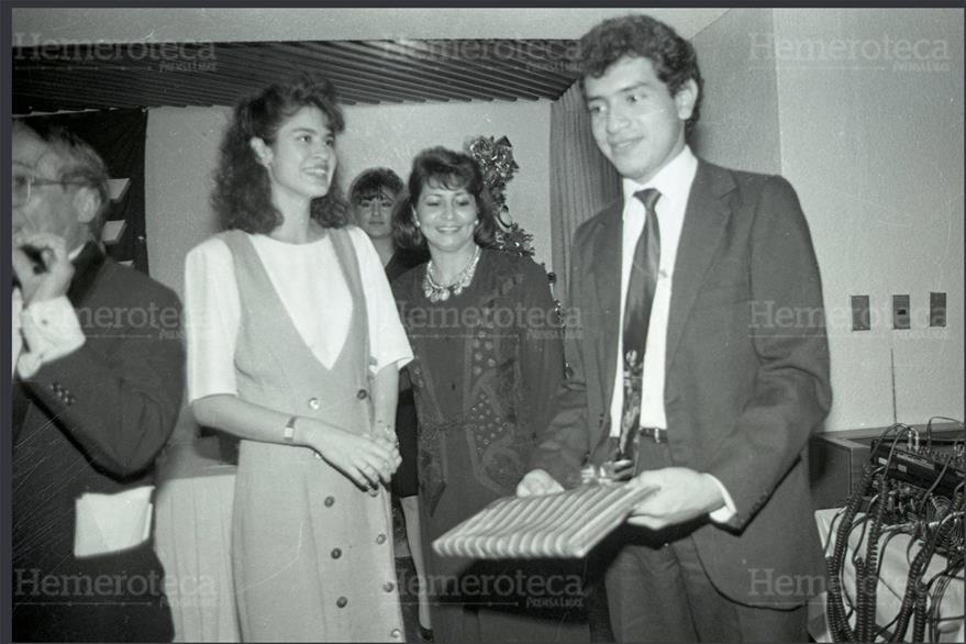 11/9/1993 Celebración del Día del Periodista en el Hotel  Conquistador. (Foto: Hemeroteca PL)