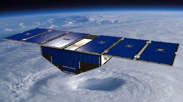 Los satélites del tiempo son imprescindibles cuando se trata de calcular el camino que tomará un huracán (NASA)