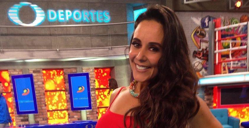 Rebeca Rubio sigue poniendo en alto el nombre de Guatemala, ahora en su faceta de conductora en Televisa Deportes. (Foto Prensa Libre: Cortesía Rebeca Rubio)