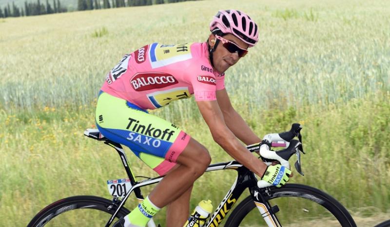 Alberto Contador vuelve a la acción después de abandonar el Tour de Francia.