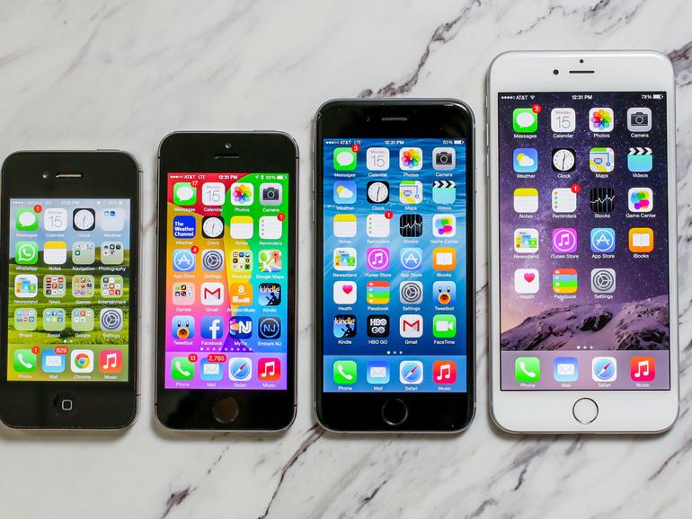Los dispositivos iPhone tienen varios tamaños, pero se especula que volverán los aparatos pequeños. (Foto Prensa Libre: Hemeroteca PL).