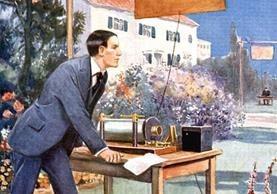 Marconi empezó sus experimentos en casa de sus padres. GETTY IMAGES