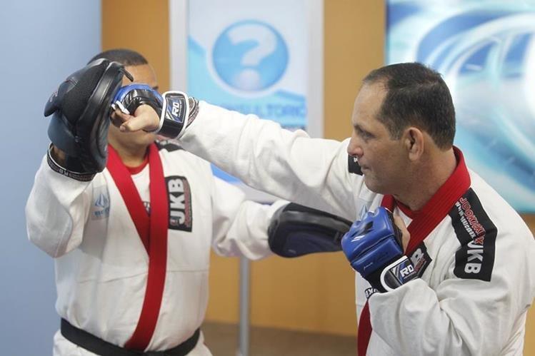 El judokickbox estimula la concentración, la rapidez y la precisión en quienes lo practican. (Fotos Prensa Libre, Óscar Rivas)