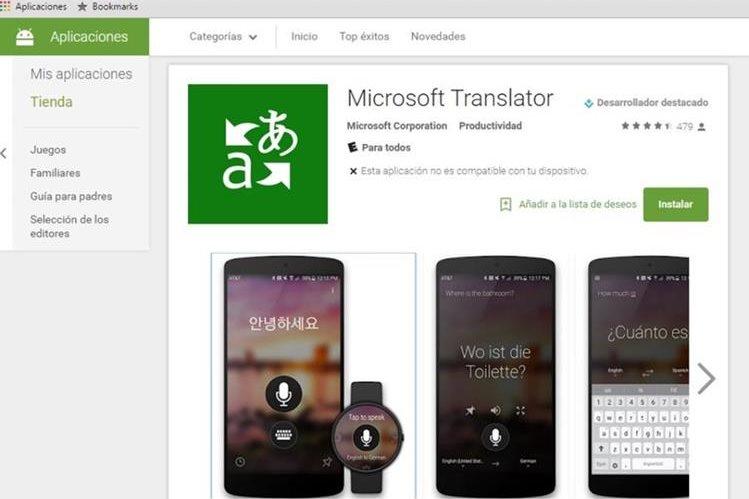 Microsoft Translator es la nueva aplicación que busca competir con Google Traslate. (Foto Prensa Libre: Hemeroteca PL).