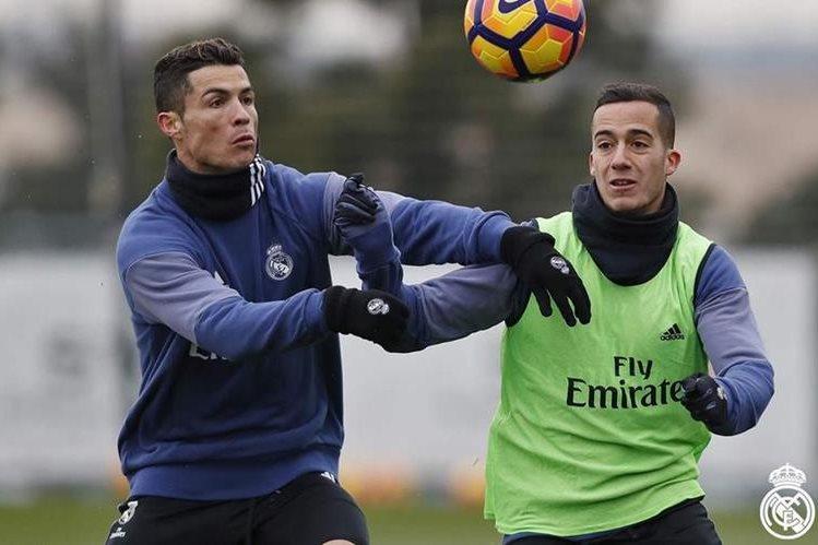 El Real Madrid trabajó por última vez este viernes previo al juego frente al Osasuna en Pamplona. (Foto Prensa Libre: Real Madrid)