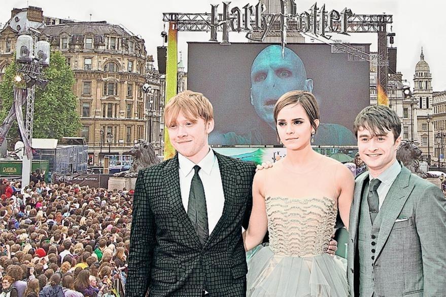 El estreno mundial de la película Harry Potter y las reliquias de la muerte: parte 2 se realizó en Londres el 7 de julio de 2011. (Foto: AFP)