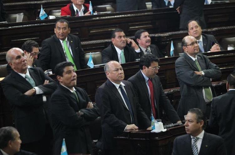 Los diputados aprobaron en único debate la ley que buscaba beneficiar a los partidos políticos UNE, FCN y LIDER.