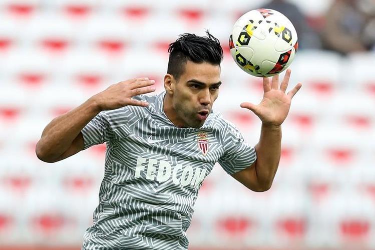 El delantero colombiano Radamel Falcao ha reanudado de forma parcial sus entrenamientos (Foto Prensa Libre: Hemeroteca PL)