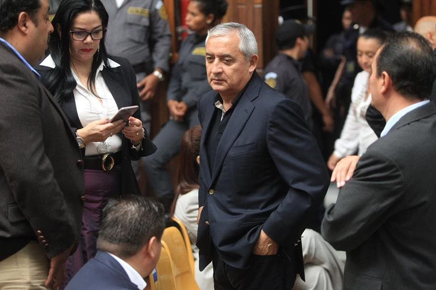 El expresidente Otto Fernando Pérez Molina, nació el 1 de diciembre de 1950. es general retirado del Ejercito de Guatemala. (Foto Prensa Libre: Esbín García)