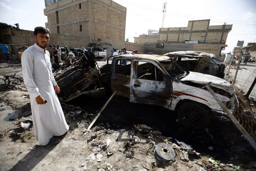 Yihadistas siembran el terror en irak. (Foto Prensa Libre: AFP)