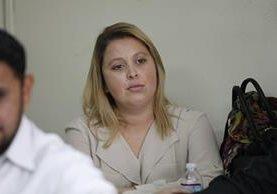 Manola Zarco, exempleada del Congreso que enfrenta proceso por sospechas de haber obtenido una plaza laboral de manera irregular. (Foto Prensa Libre: Hemeroteca)