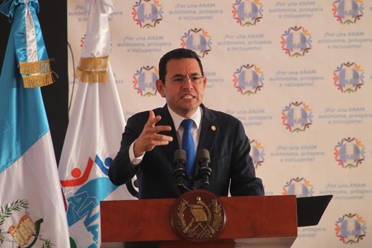 Al presidente le disgustó que Iván Velásquez y Thelma Aldana ofrecieran conferencia a la misma hora en que se reunía con secretario general de ONU. (Foto Prensa Libre: Hemeroteca PL)