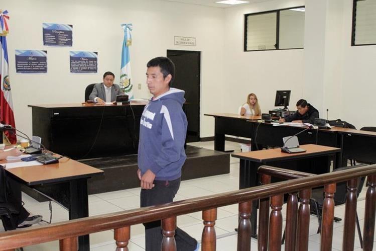 Juan José Sánchez fue condenado por homicidio, en Quetzaltenango. (Foto Prensa Libre: María José Longo).