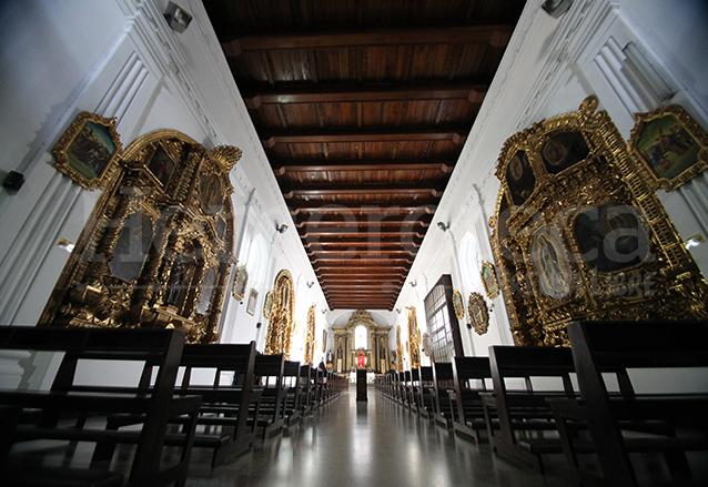 Interior del Templo de Capuchinas. (Foto: Hemeroteca PL)