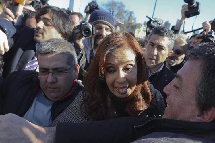 Cristina Fernández ya enfrenta varios procesos. (Foto Prensa Libre: EFE)