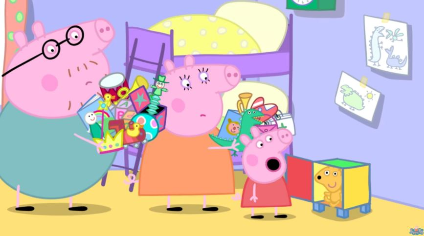 Censuran 30 mil episodios de Peppa Pig en China