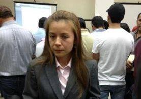 María Alejandra Má Villatoro. (Foto Prensa Libre: Covial).