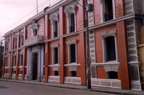 Fachada del Museo Nacional de Historia. (Foto Prensa Libre: Ministerio de Cultura y Deportes)