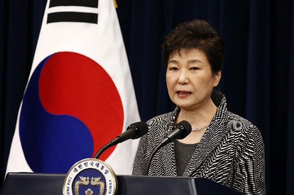 Park Geun-hye es acusada por un grave caso de corrupción y tráfico de influencias.(EFE).