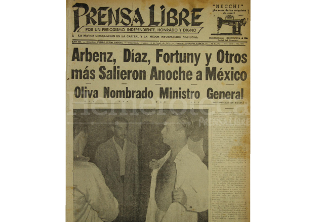 Portada del 10 de septiembre de 1954. (Foto: Hemeroteca PL)