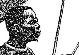 El Negro fue un guerrero africano que después de su muerte en 1830 fue llevado por un comerciante francés a Europa donde se convirtió en una especie de trofeo de caza.