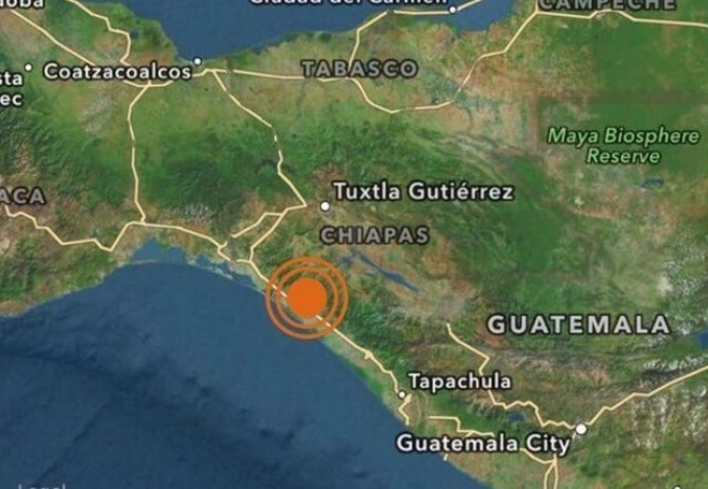 Los cuerpos de socorro y la Conred no reportan víctimas o daños provocados por el sismo de esta tarde. (Foto Prensa Libre: Internet)