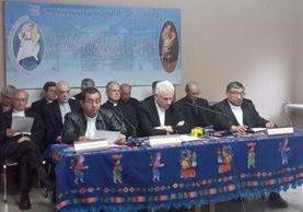 Los obispos piden justicia por la trágica muerte de 40 menores del Hogar Seguro Virgen de la Asunción. (Foto Prensa Libre: Cortesía CEG)