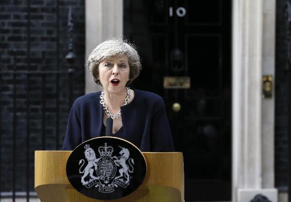 Theresa May es la nueva primer ministra británica. (Foto Prensa Libre:AP).