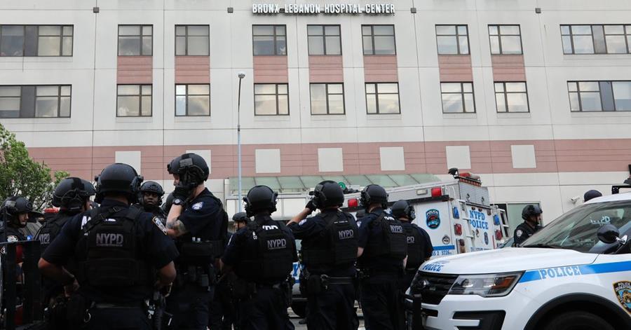 Balacera en hospital de Nueva York deja varios heridos. (Foto Prensa Libre)