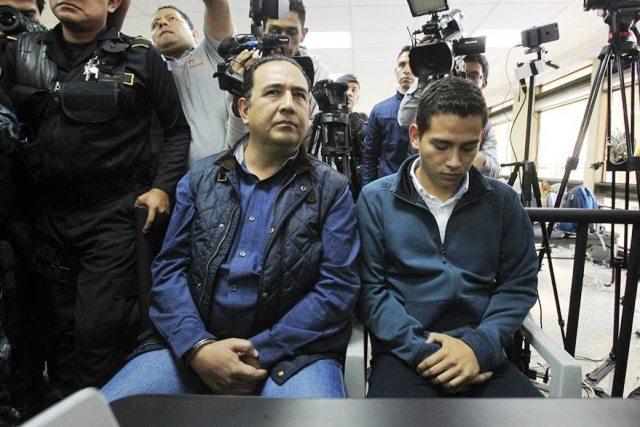 Samuel Morales y José Manuel Morales están señalados de fraude en el caso Botín Registro de la Propiedad. (Foto Prensa Libre: Hemeroteca PL)
