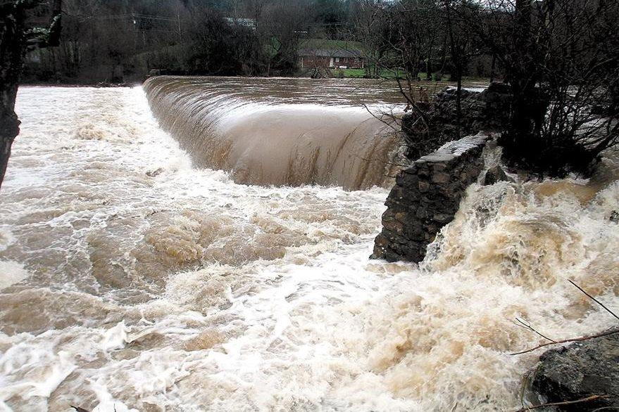 La lluvia causa inundaciones en el sureste de Estados Unidos. (AP)