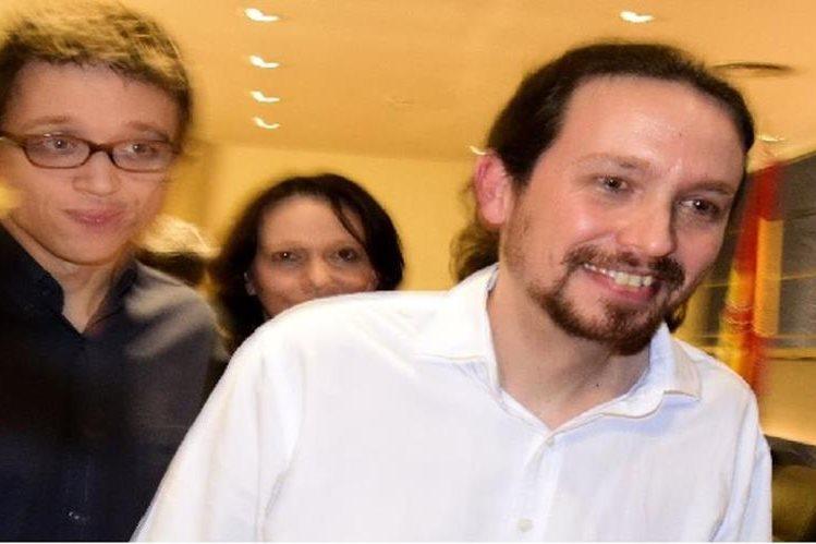 Pablo Iglesias.líder de Podemos.