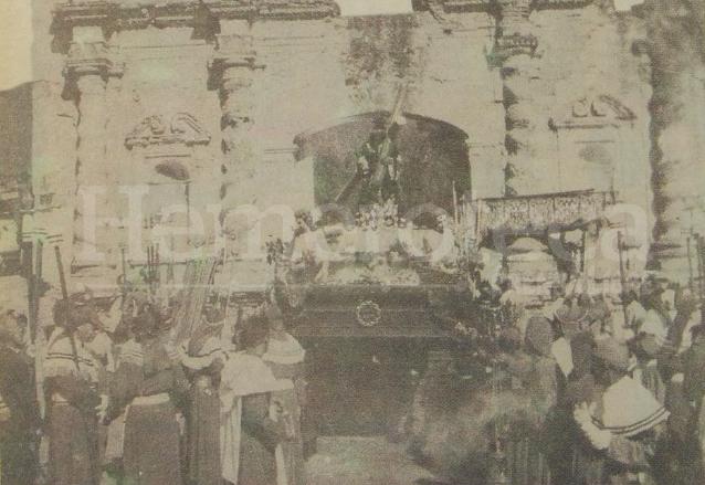 1963: peregrinación de Cristo Rey a la Antigua Guatemala