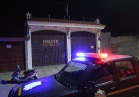 La Policía Nacional Civil logró el rescate de un menor en Jalapa. (Foto Prensa Libre: Hugo Oliva)