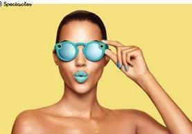 Las lentes de Snapchat capturan videos en formato cuadrado.