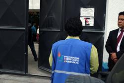 Personal de la PDH inspecciona Hogar Seguro de Quetzaltenango. (Foto Prensa Libre: Carlos Ventura).