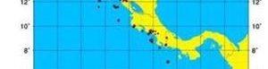 Mapa de sismos.