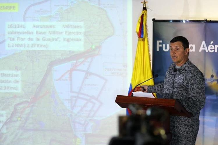 <em>El 14 de septiembre Colombia denunció una supuesta violación al espacio aéreo de ese país por parte de una aeronave militar venezolana. (Foto Prensa Libre: EFE).</em>