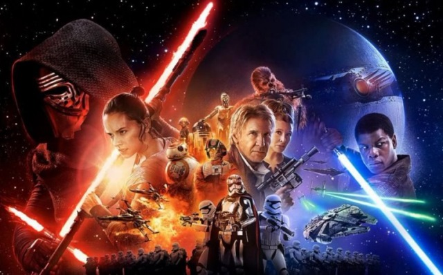 """Ovaciones y vítores en el estreno de la nueva entrega de """"Star Wars"""". (Foto Prensa Libre: AP)"""