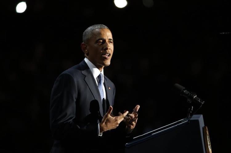Obama: El racismo sigue vivo en el país y queda más trabajo por hacer.