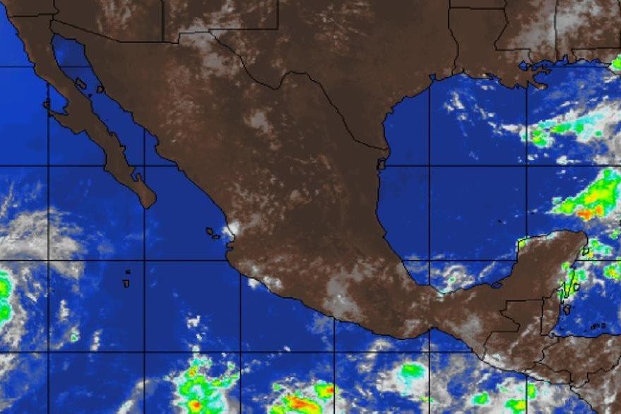 """""""Orlene"""", (i) es el quinceavo ciclón tropical del Pacífico en la temporada de huracanes."""