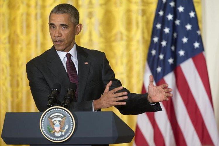 Barack Obama, presidente de EE. UU. (Foto Prensa Libre: AP)