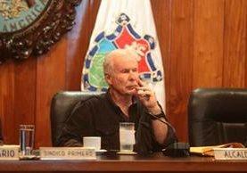 El alcalde capitalino, Álvaro Arzú, tiene una solicitud de antejuicio en su contra. (Foto Prensa Libre: Hemeroteca PL)