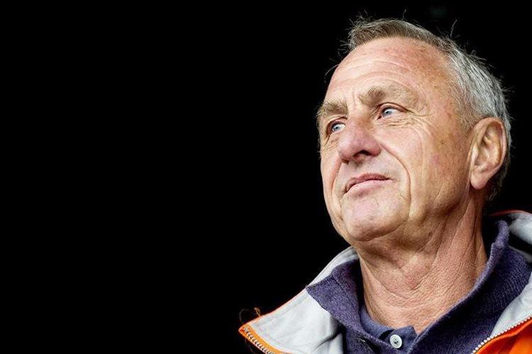 El hoandés Johan Cruyff fue diagnosticado con cáncer de pulmón la semana anterior. (Foto Prensa Libre: Hemeroteca)