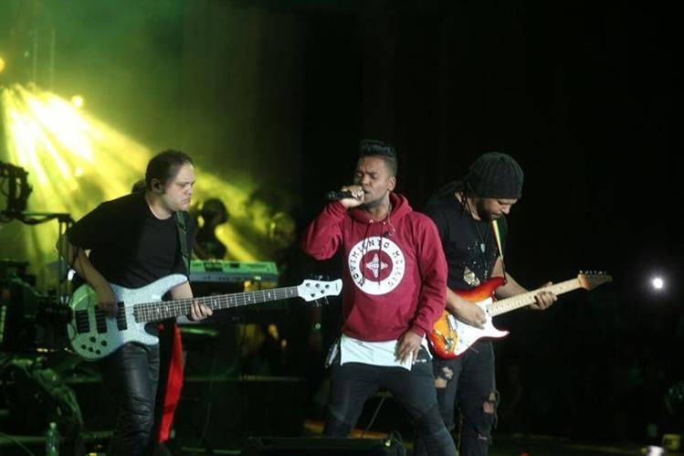 Uno de los momentos del festival. (Foto Prensa Libre: Josué León)