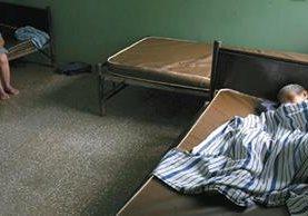 <p>Vista de uno de los pabellones de mujeres dentro del psiquiátrico nacional (Foto Prensa Libre: Esbin García).<br></p>