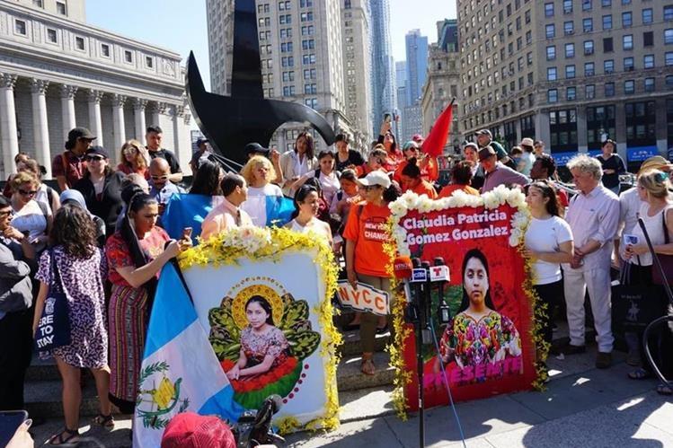 Portal Noticias Veracruz: Reciben restos de migrante guatemalteca asesinada por Patrulla Fronteriza